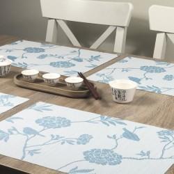 Celeste fleximats white side all 4 tablemats