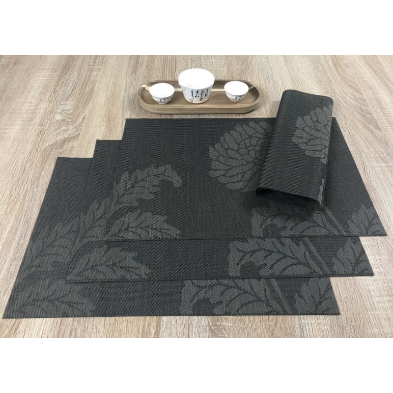Carbon woven vinyl Fleximats