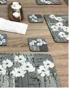 Traditional to modern table mats. All colours