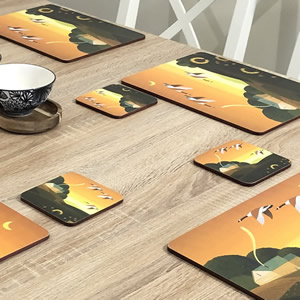 Summer Gol table placemats