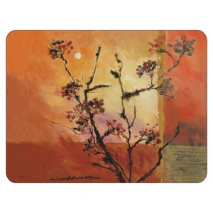 Sunset elegant table placemats